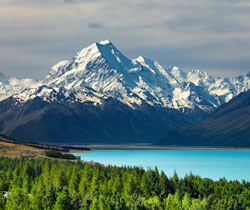 Hotel room rental near the Mount Cook, close to Twizel